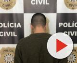 O homem suspeito foi preso pela Polícia Civil. (Divulgação/Polícia Civil)
