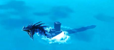 Sea monster has been spotted around the 'Fortnite' island. (Image Credit: Dr Pineapplez / YouTube)
