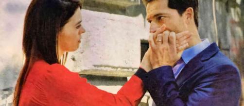 Beatrice (Marina Crialesi) Aldo (Luca Capuano).