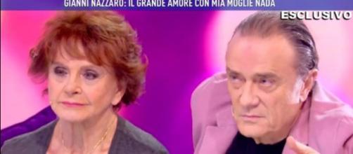 Da sinistra Nada Ovcina e Gianni Nazzaro
