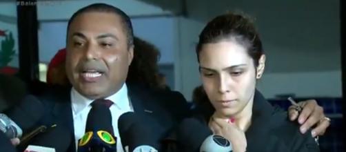 Isabela afirma que os abusos seriam apenas psicológicos e físicos. (Reprodução/ Record TV)