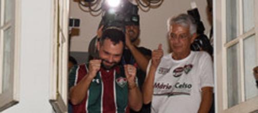 Mário Bittencourt assume a presidência do Fluminense. (Divulgação/Mailson Santana/Fluminense FC)