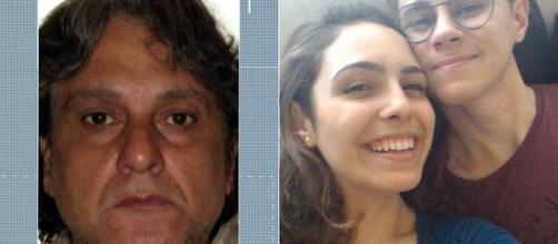 Paulo Cupertino já teria agredido a esposa. (Reprodução/ TV Globo/ Arquivo Pessoal)