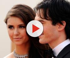 Nina Dobrev e Ian Somerhalder se conheceram nos bastidores de 'The Vampire Diaries'. (Arquivo Blasting News)