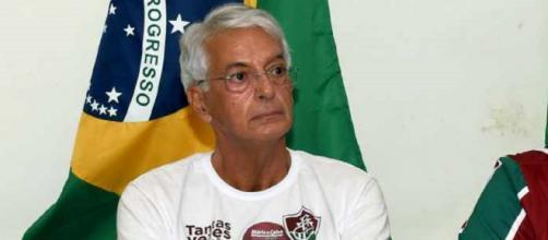 Celso Barros desmente proposta por Klauss Câmara e assegura permanência de Paulo Angioni. (Divulgação/Mailson Santana/Fluminense FC)