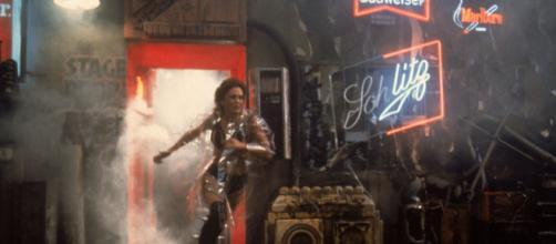 Una scena di Blade Runner, di Ridley Scott (1982)