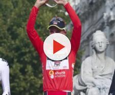 Il podio finale della Vuelta Espana 2011