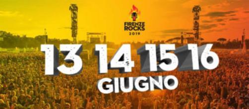 Il Firenze Rocks 2019 si terrà dal 13 al 16 giugno