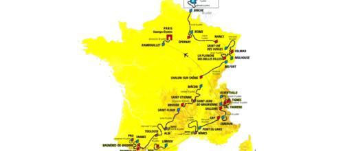 Percorso del 106° Tour de France