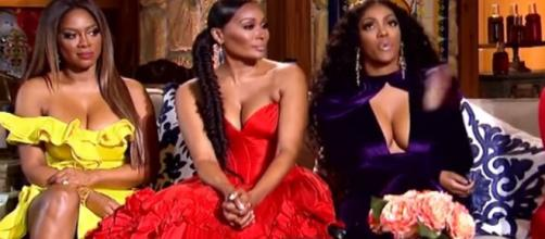 Porsha Williams of 'Real Housewives of Atlanta upset over alleged racism at LAX - Image credit - Bravo / YouTube