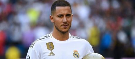 Eden Hazard out to make history at Real Madrid after unveiling ... - skysports.com