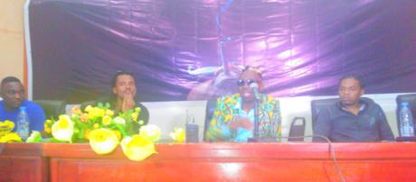 L'artiste Camerounais rappeur Juddah © Odile Pahai