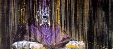 Francis Bacon's 'Pope Innocent X,' reeks of restiveness and uproar. [Image Source: libby rosof/Flickr]