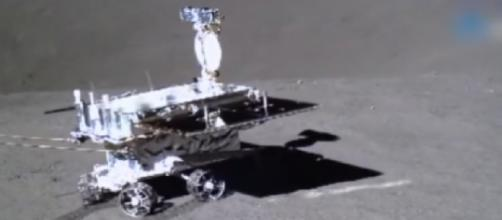 China's Yutu-2 rolls across the surface of the Moon. [Image source/The Planetary Society YouTube video]