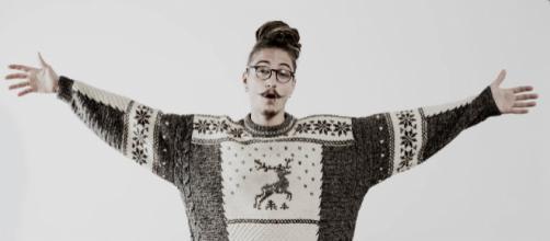 Cranio Randagio, rapper romano scomparso nel 2016.