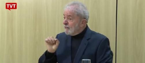 """Em entrevista após """"Vaza Jato"""", Lula criticou o ex-juiz Sergio Moro. (Reprodução/Instagram/@lulaoficial/TVT)"""