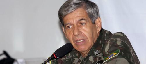 General Augusto Heleno se revolta com fala de Lula. (Arquivo Blasting News)