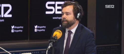 Iván Espinosa de los Monteros durante su entrevista en 'Hoy por hoy'. / SER