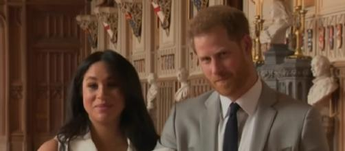 Meghan Markle And Prince Harry Welcome Their Royal Baby, Archie Harrison Mountbatten-Windsor. [Image via TODAY YouTube video]