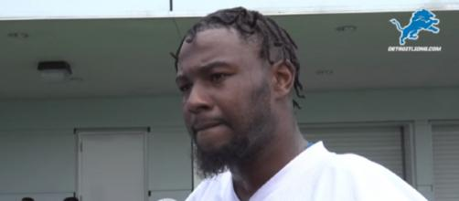 Michael Roberts played 23 games for the Lions (Image Credit: Detroit Lions/YouTube)