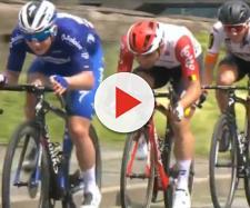 Evenepoel guida il terzetto con Campenaerts e Kron
