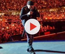 Vasco Rossi in concerto - foto tratta dal profilo Instagram.