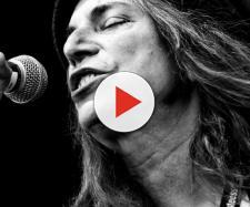 Patti Smith una delle rocker più famose di tutti i tempi.