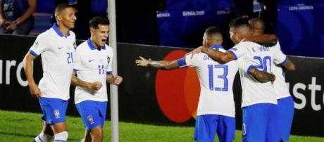 Brasile-Bolivia 3-0, doppio Coutinho e prodezza di Everton al debutto in Copa America