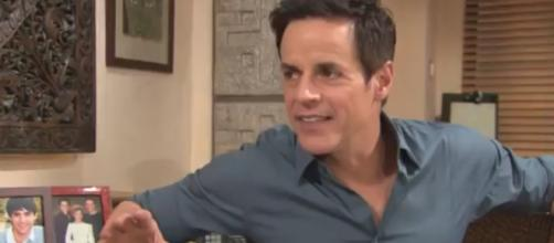Christian LeBlanc is front and center on Y&are again. [Image Source: The Young and the Restless- YouTube]