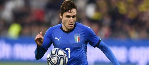 Federico Chiesa avrebbe già raggiunto l'accordo con la Juventus (foto: gianlucadimarzio.com).