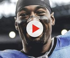 Calvin's Johnson visit to Atlanta has tongues wagging. [Image via Mic'd Up/YouTube]