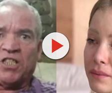 O pai da modelo defendeu a filha dos ataques que vem recebendo após a denúncia. (Reprodução/Record TV/YouTube)