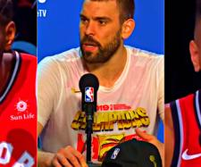 Kawhi Leonard, Marc Gasol and Danny Green are expected to enter the free-agency market this offseason – [Image Credit: NBA.com/Youtube]