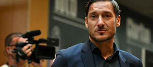 Conferenza stampa di Francesco Totti
