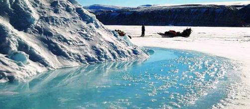 Groenlandia: in un giorno sciolti 2 miliardi di tonnellate di ghiaccio. SI rischia l'innalzamento globale del livello del mare