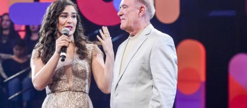Lívian se tornou conhecida desde pequena ao participar dos programas em que Renato Aragão interpretava Didi. (Arquivo Blasting News)