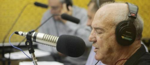 Paulo Lopes na Massa FM. (Reprodução/Facebook/Massa FM Londrina)