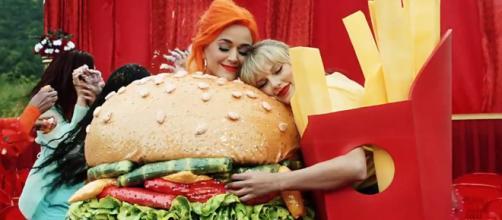 Taylor finaliza con su rivalidad con Katy Perry en su nuevo video