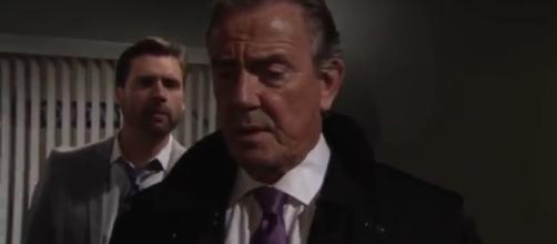 Victor sides with Nick in custody battle for Christian. [Image Source: CBS daytime/Y&R]