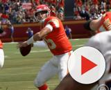 Kansas City Chiefs in Madden 20 will have realistic throws from Pat Mahomes [Image - Madden 20 via EA Sports]