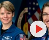 NASA Astronauts will set history as first all-female crew to conduct spacewalk. [Image source/CBS Miami YouTube video]