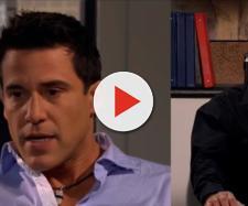David e Rogério em 'A Que Não Podia Amar'. (Reprodução/Televisa)