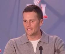 Tom Brady has led the NFL in merchandise sales for the second straight year. [Image Source: ABC News/YouTube]