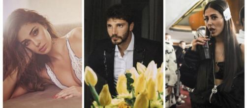 Belen e Stefano De Martino ad un evento faccia a faccia con una ex di lui: Gilda Ambrosio.