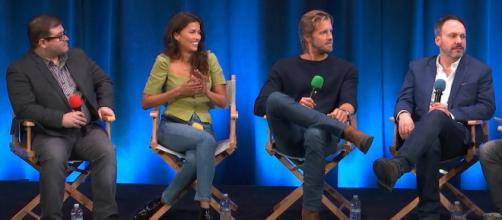 'Blood & Treasure' cast tease new show - image credit -Talks From Google/YouTube Screencap