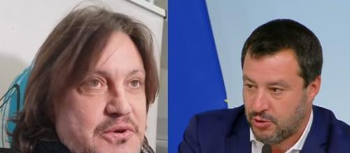 Cristiano De Andrè non ha parole tenere nei confronti di Salvini