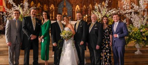 Fans are still clamoring to see Jamko's wedding on 'Blue Bloods' season 10. [Image via Blue Bloods/Facebook]