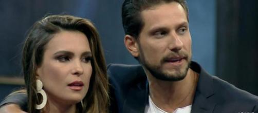 Kamilla e Eliéser no 'Power Couple'. (Reprodução/ Record TV)