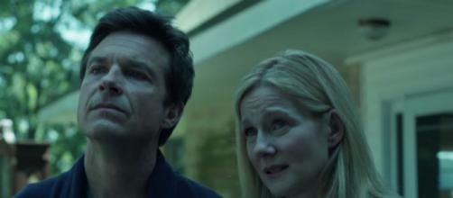 Marty and Wendy recieve bad news in Netflix's Ozark. Photo via YouTube/Netflix