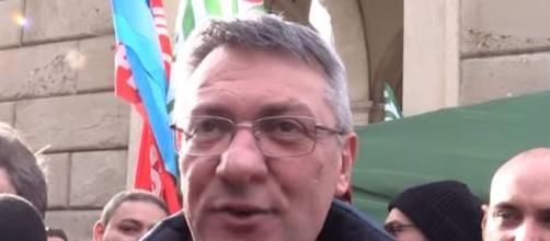 Maurizio Landini, segretario generale della Cgil.
